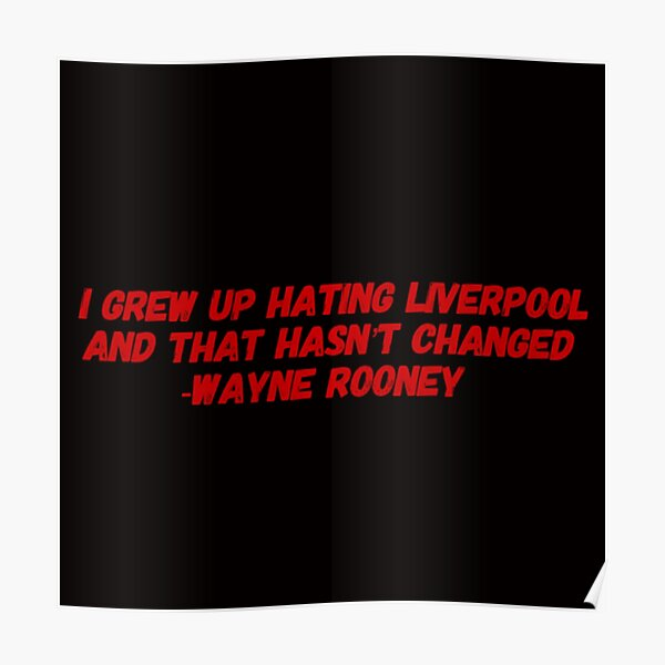Manchester United Quotes Posters Redbubble