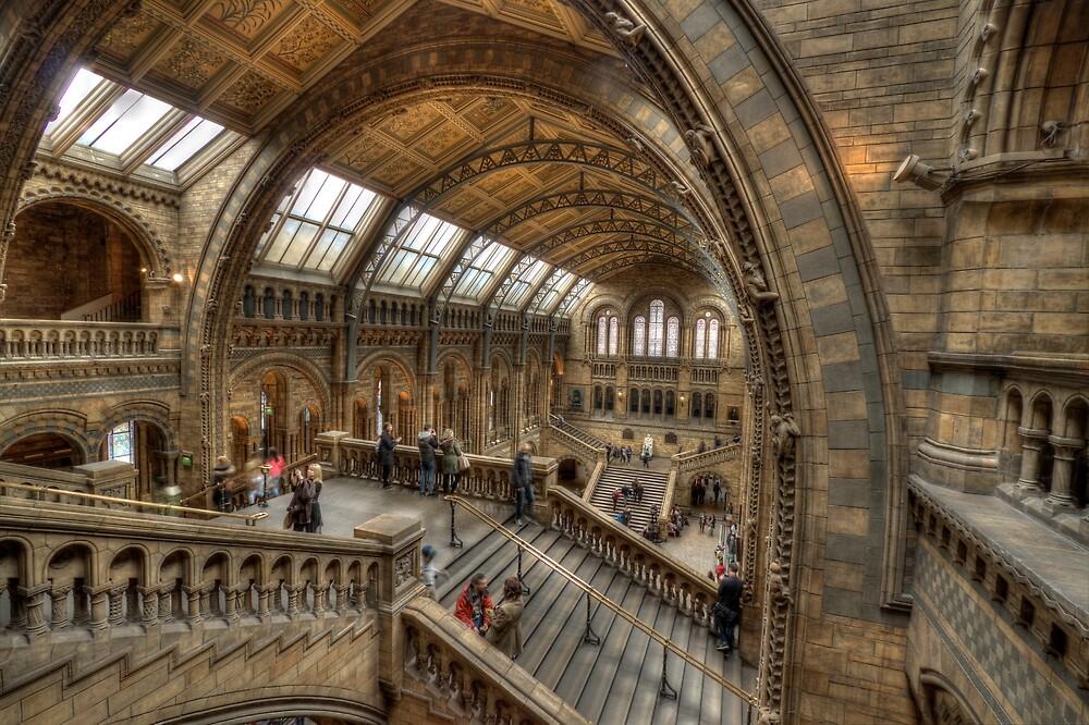 The Natural History Museum - London by Graham Ettridge