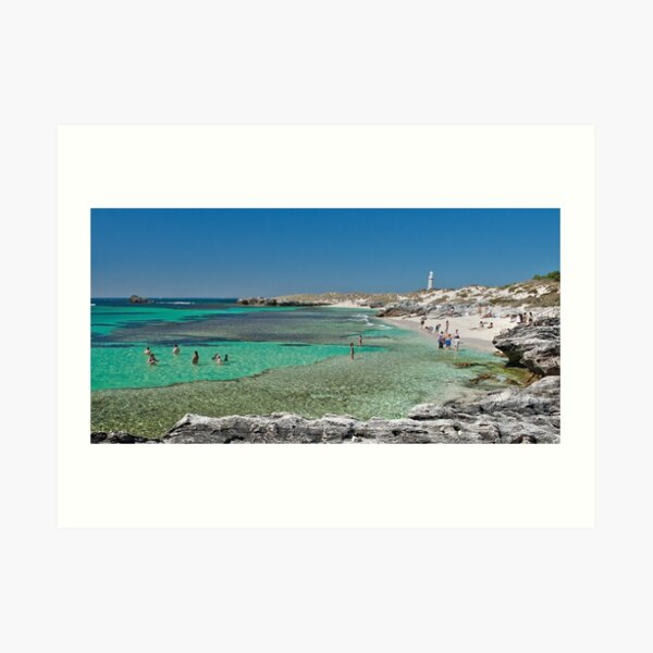 The Basin - Rottnest Art Print