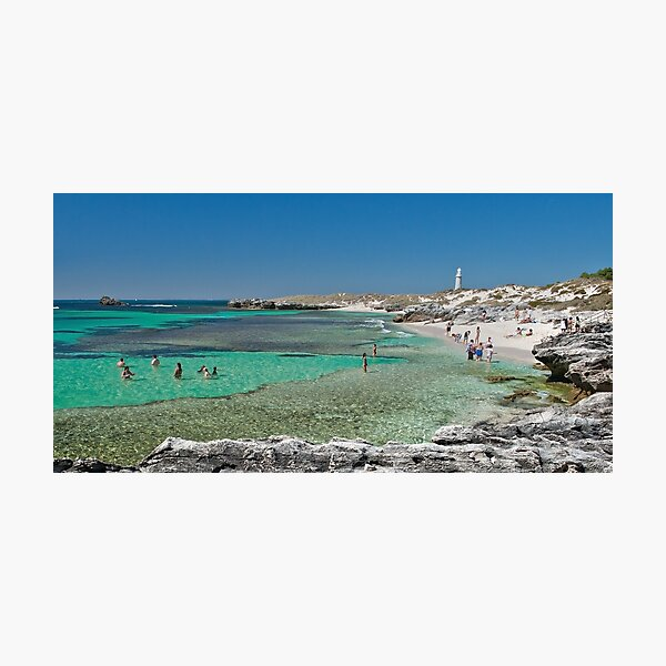The Basin - Rottnest Photographic Print