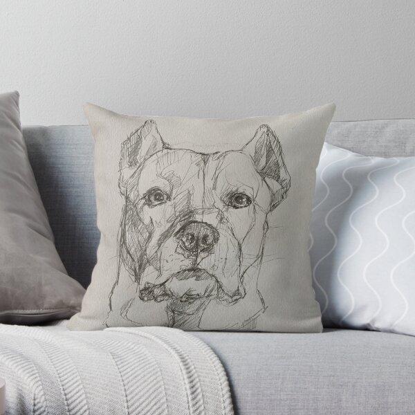 Dogo Argentino | The Argentinian Mastiff Throw Pillow