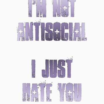 I'm not antisocial by Tusny