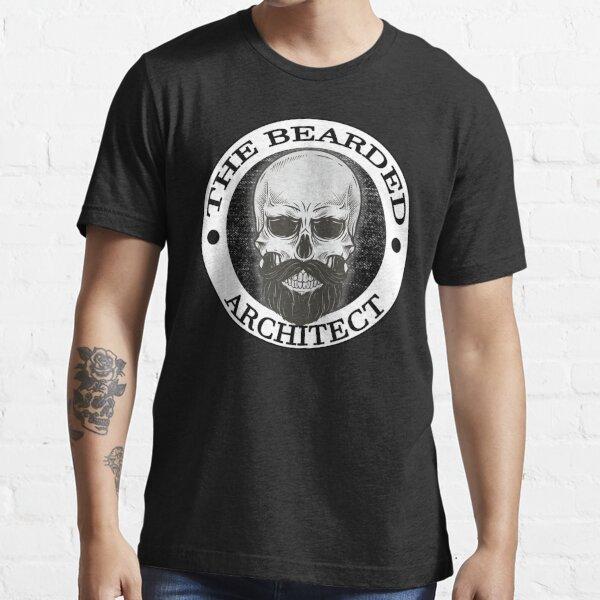 Bearded Skull Architect Gift Essential T-Shirt