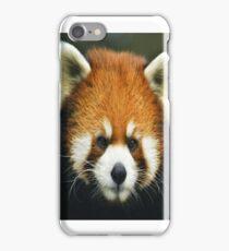 Red Panda Endangered Species iPhone Case/Skin