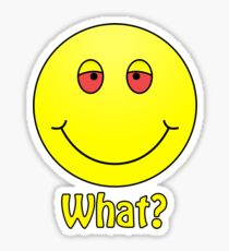 Smiley What? Sticker