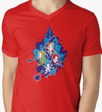 Crashers Men's V-Neck T-Shirt