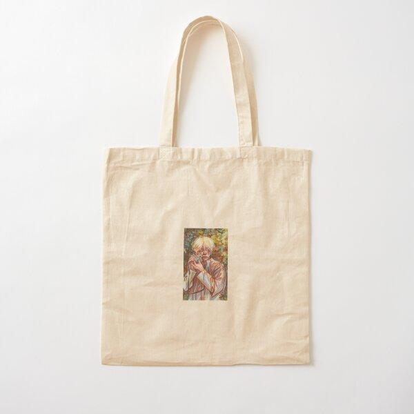 Tae  Cotton Tote Bag