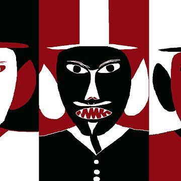 three gentlemen by ArtNaive