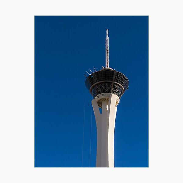 Stratosphere Las Vegas Photographic Print