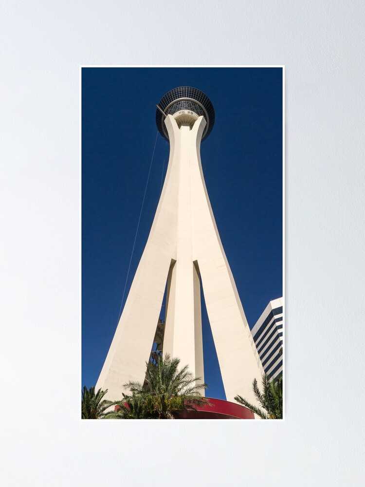 Alternate view of Stratosphere Las Vegas Poster