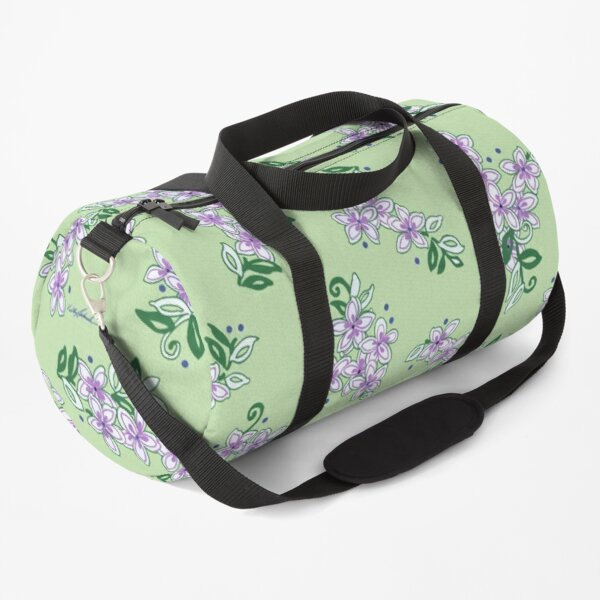 The Little Lilac Flowers Are Home; In Memory of Mackenzie Duffle Bag