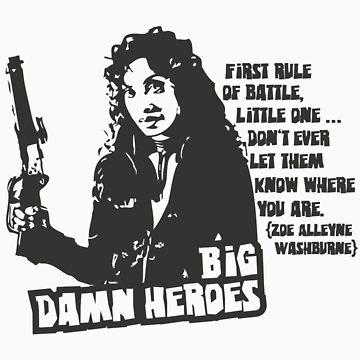 Big Damn Heroes: Zoe by enigma630