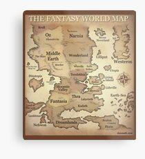 Fantasy Lands Metal Print