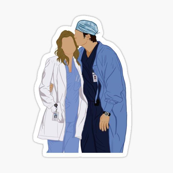 Grey's Anatomy sticker Sticker