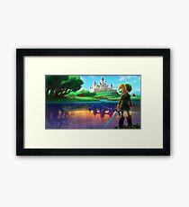 Lámina enmarcada Zelda !!