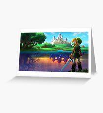 Zelda!! Greeting Card