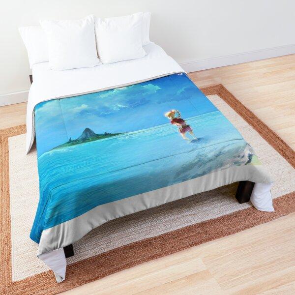 Chrono Cross Kid Beach Background Comforter