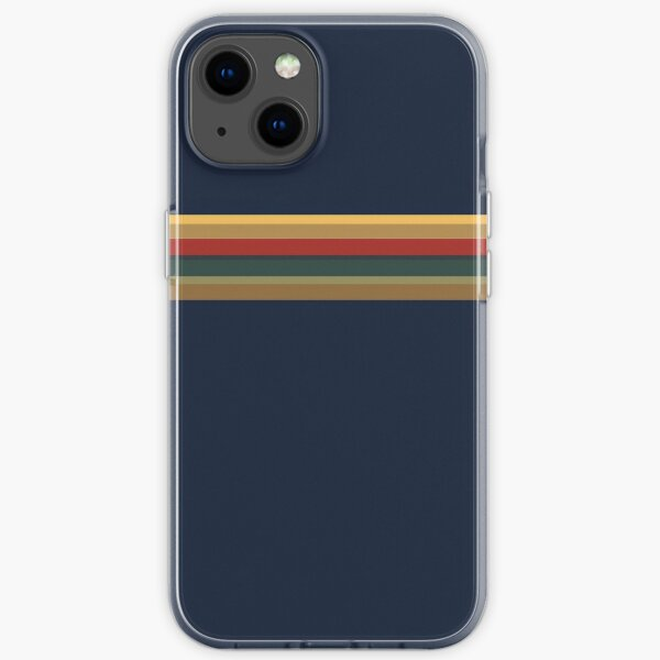 13th Doctor Rainbow Top (Cosplay Shirt and Mask)  iPhone Soft Case