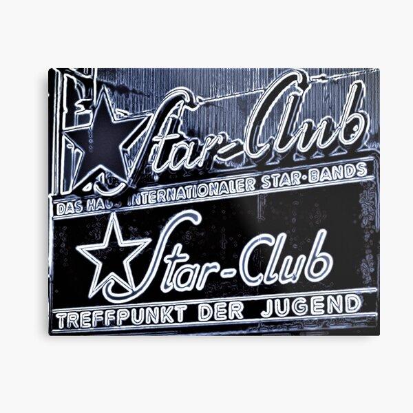 Star-Club Metal Print