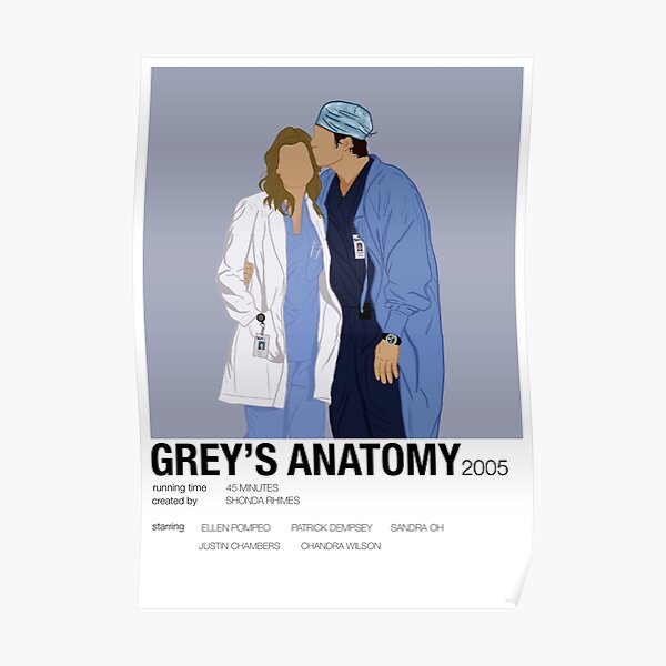 Grey's Anatomy poster Poster