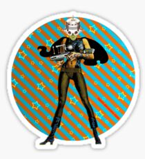 Zap Chic Sticker