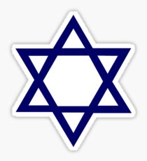 Jewish Star of David Sticker