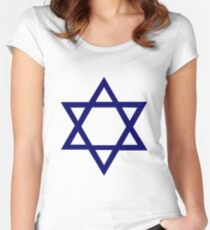 Jewish Star of David Women's Fitted Scoop T-Shirt