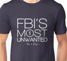 The FBI's Most Unwanted Unisex T-Shirt