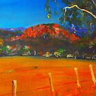 Hanging Rock, Woodend VIC Australia by Margaret Morgan (Watkins)