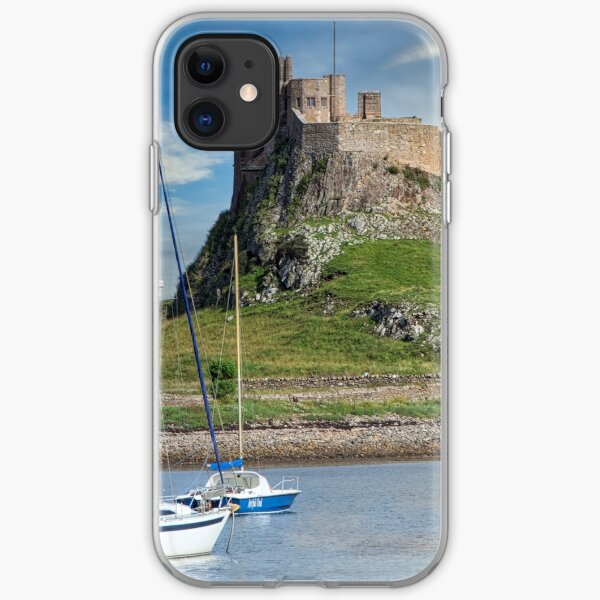Lindisfarne Castle and Harbour iPhone Soft Case
