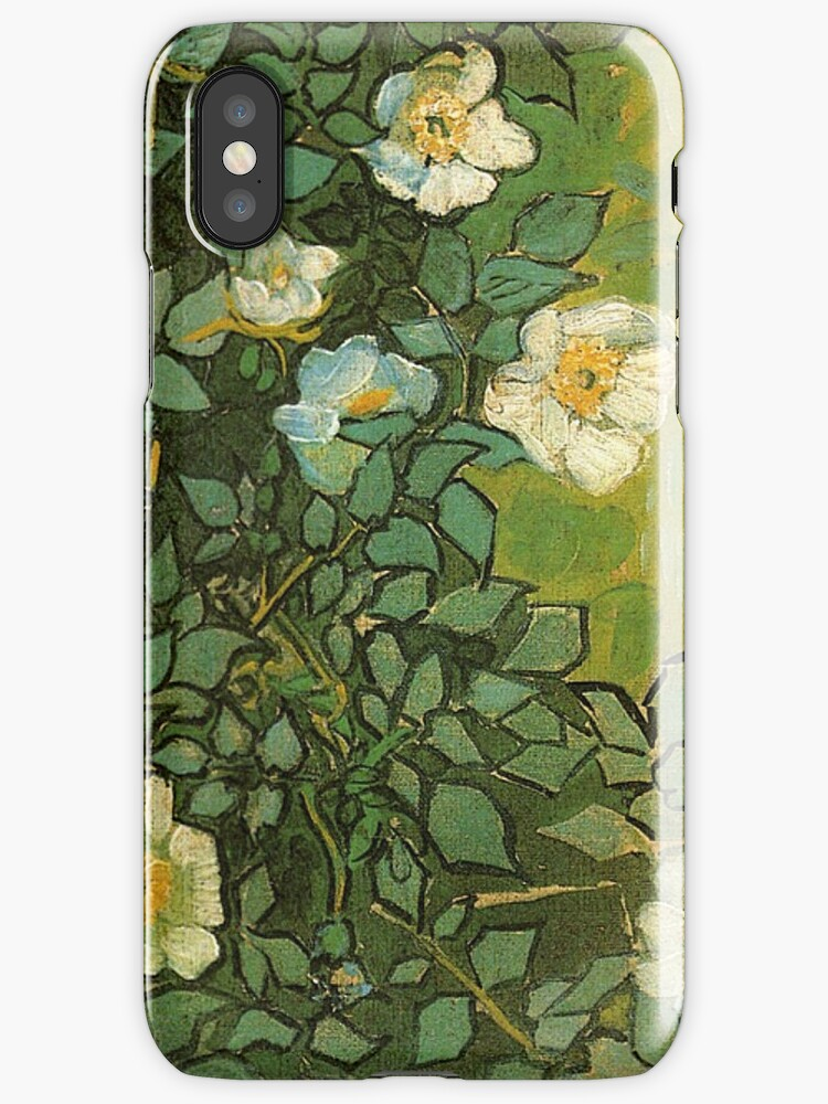 Van Gogh- Wild Roses by drewkrispies