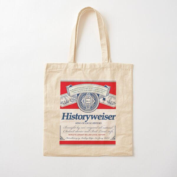 Mr Local History Wiser  Cotton Tote Bag