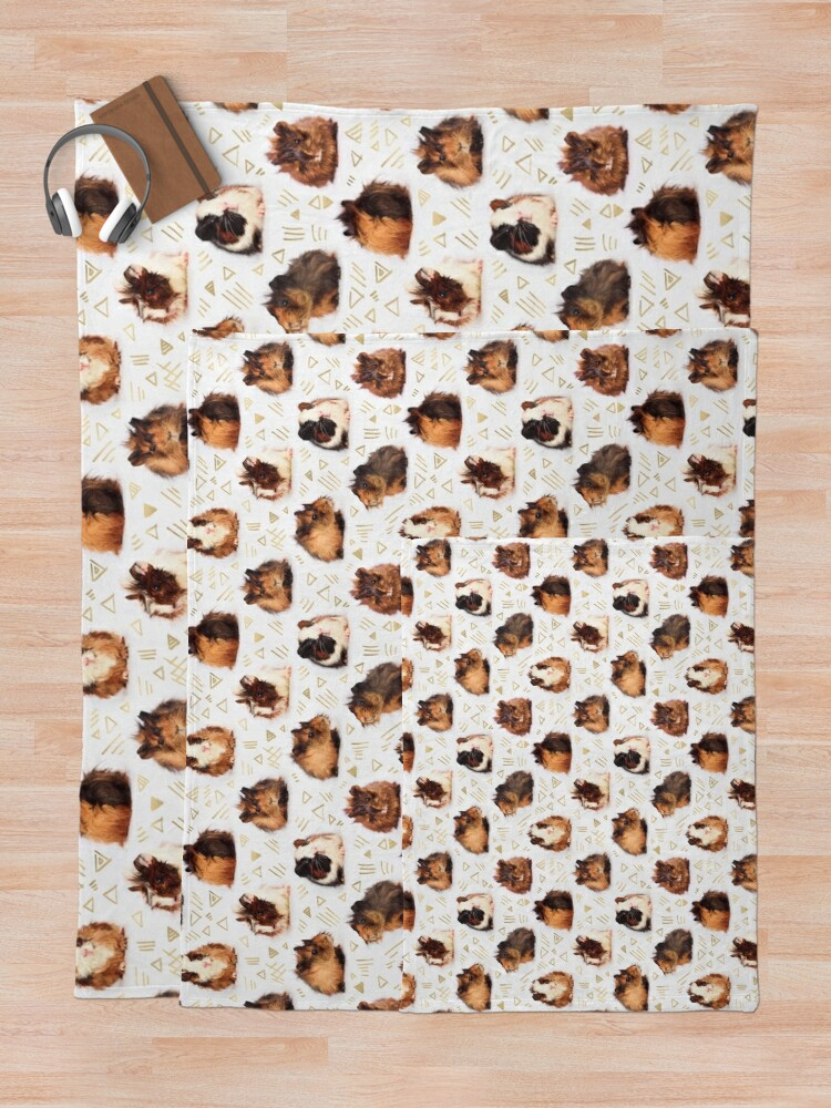 Alternate view of The Essential Guinea Pig Throw Blanket