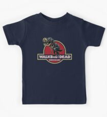 Walking With Dead Dinosaurs Kids Tee