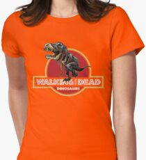 Walking With Dead Dinosaurs Women's Fitted T-Shirt