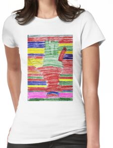 Lend A Hand to the Arc Womens Fitted T-Shirt
