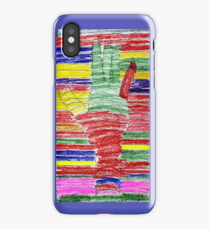Lend A Hand to the Arc iPhone Case/Skin