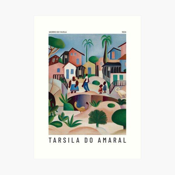 Morro de Favela - Tarsila do Amaral - Art Poster Art Print