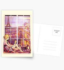 A Window to Paris Postcards