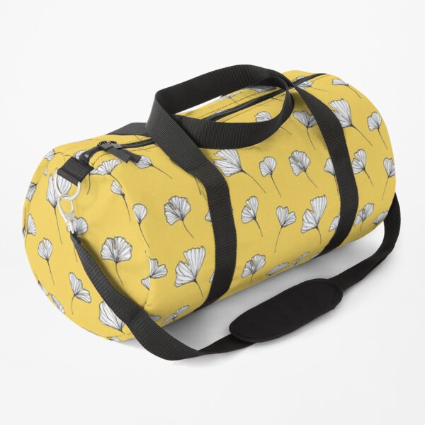 Ginkgo Biloba Leaves Pattern Duffle Bag