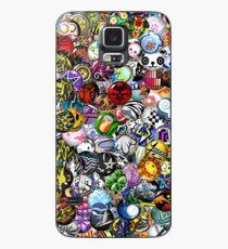 The World Ends With You Pins Hülle & Klebefolie für Samsung Galaxy