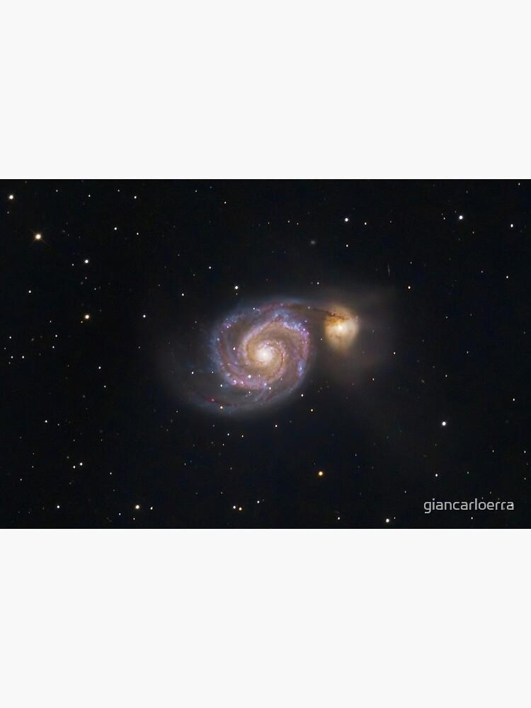 M51 Whirpool Galaxy by giancarloerra