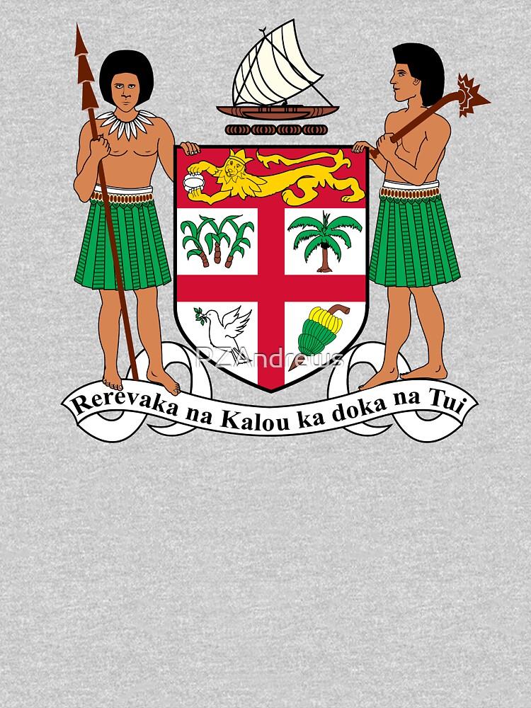 Coat of Arms of Fiji by PZAndrews