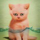 kitten tears 02 by Vin  Zzep