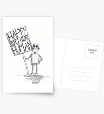 Happy Birthday Human Postcards