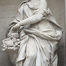 Trevi Fountain detail by Christopher Clark