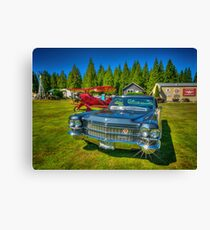 Airport limo Canvas Print