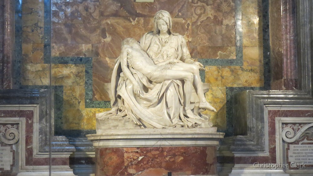 The Pieta- Michaelangelo Buonarotti by Christopher Clark
