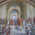 School of Athens- Raphael Sanzio by Christopher Clark
