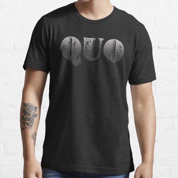 Quo (Distressed Design) Essential T-Shirt